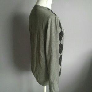 Esprit Sweaters - Esprit Collection Argyle V-Neck Sweater M/L